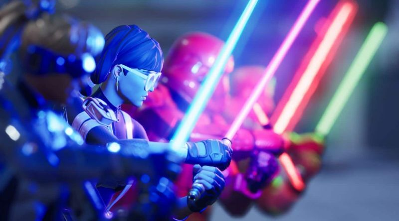 Are Lightsabers still in Fortnite? Yes, they are for a day! (Image credits: Epic Games)