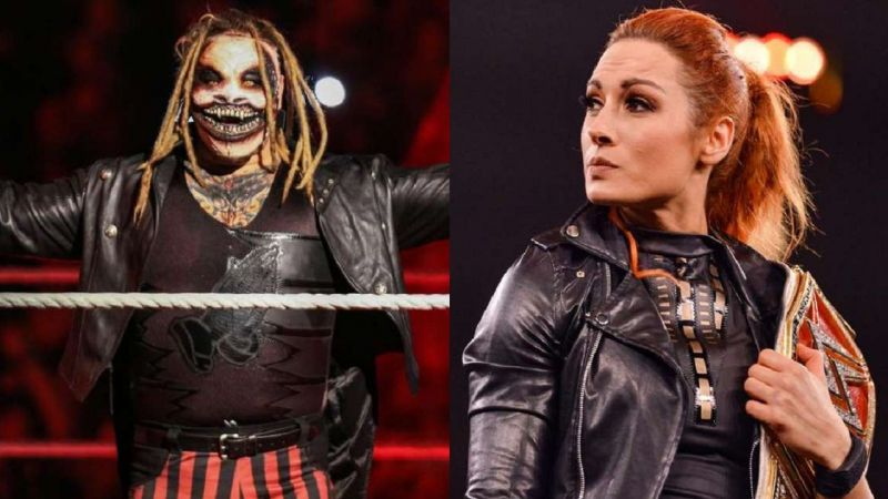 The Fiend and Becky Lynch