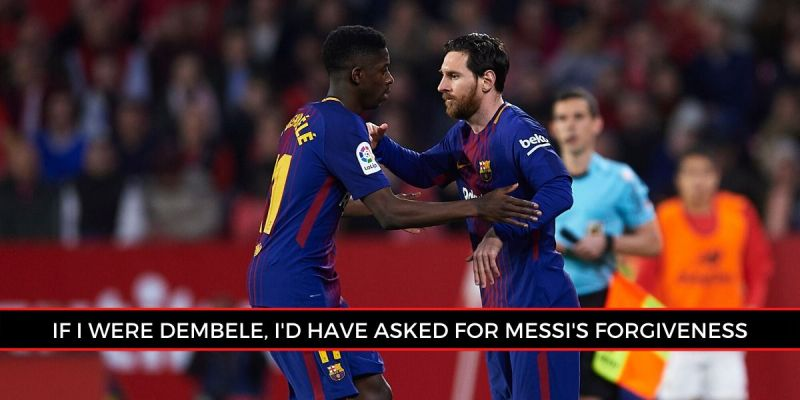 Pineda stated that Messi gave everything he had against Liverpool