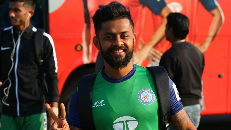 Karan Amin played six matches for Jamshedpur FC in the last two seasons