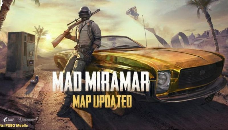PUBG Mobile Mad Miramar Update (picture credits: Republic World)