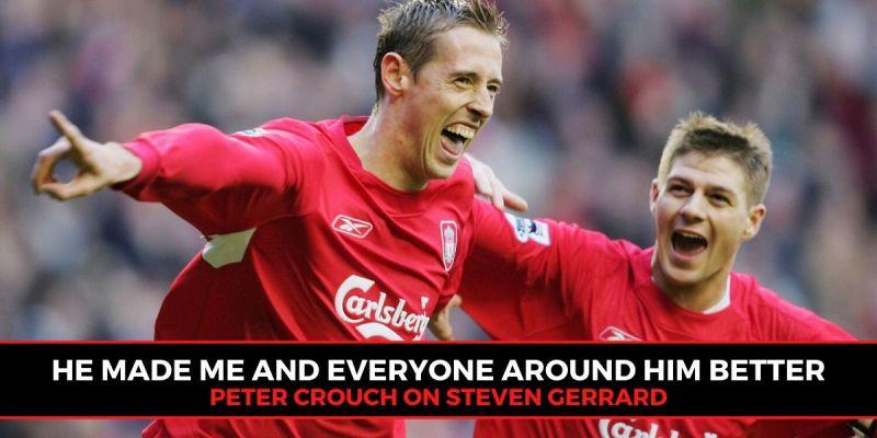 Liverpool legend Steven Gerrard has been compared to NBA icon Michael Jordan