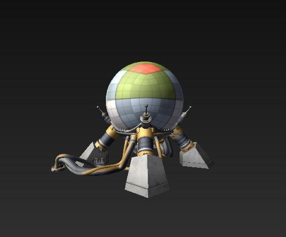 A leaked image of the the Doomsday device in Fortnite (Image Credits: FortTroy)