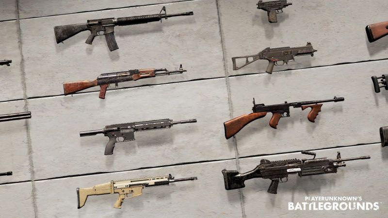 Guns in PUBG Mobile