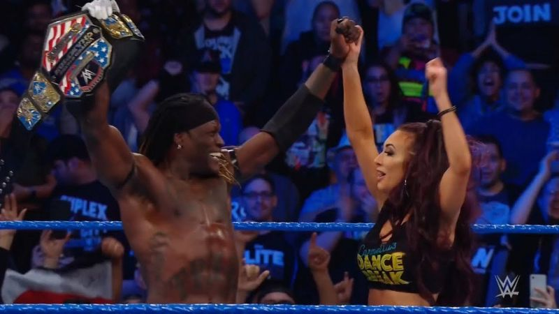 R-Truth beat Shinsuke Nakamura to win his second US title
