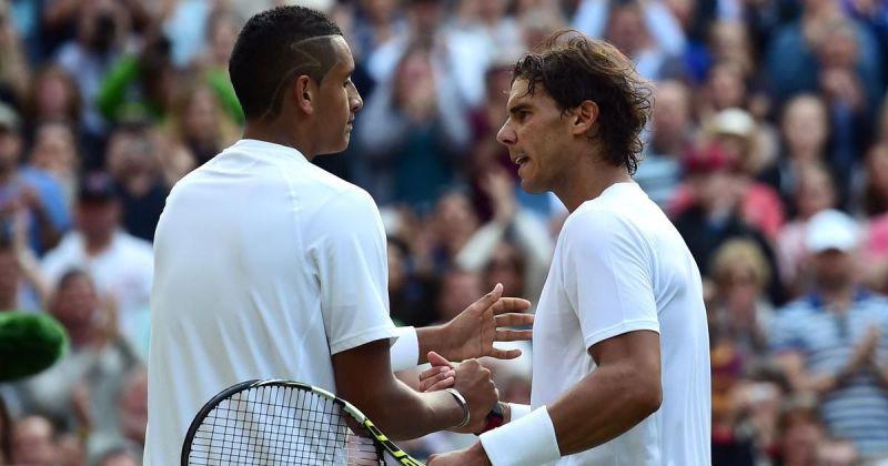 A teenage Nick Kyrgios stunned Rafael Nadal in the 2014 Wimbledon fourth round