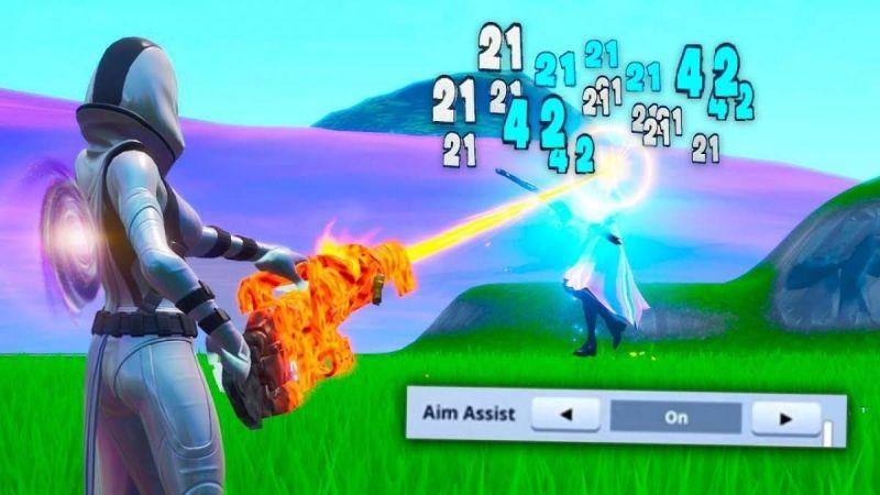 Fortnite Aim Assist (Image Courtesy: Blasting News)