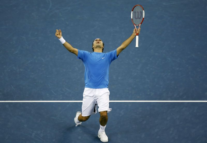 Roger Federer defeated Andy Roddick in four sets in the 2006 US Open final