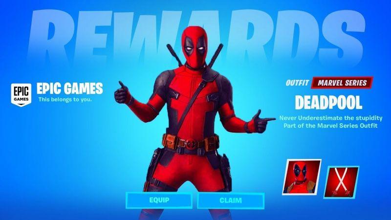 Deadpool Skin in Fortnite (Image Courtesy: Player One)