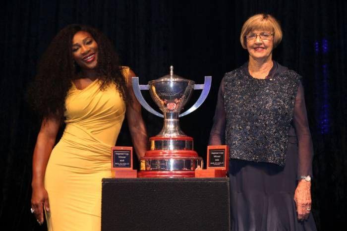 Serena Williams and Margaret Court