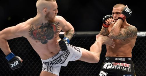 McGregor and Poirier fought at UFC 178 back in 2014