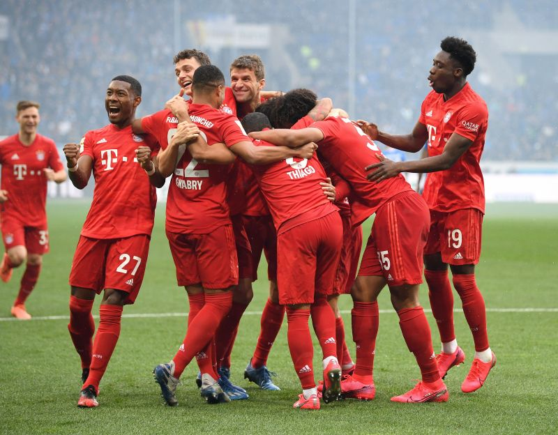 Bayern Munich march to another title in our simulation.