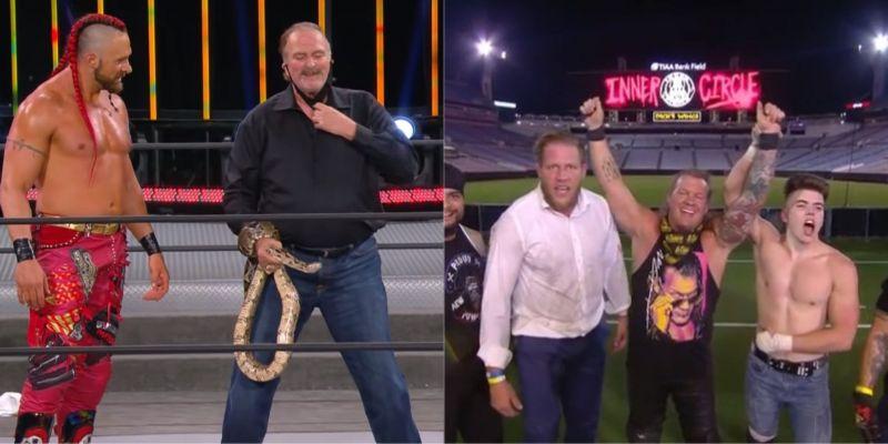 Matt Hardy took part in an insane AEW main event!