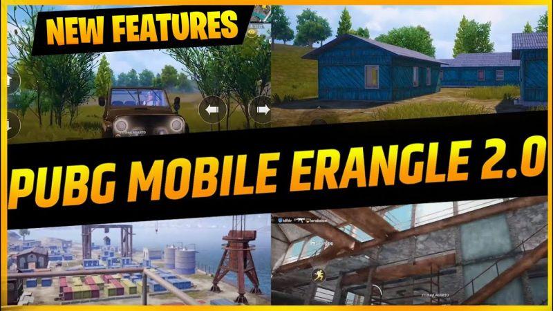 PUBG Mobile Erangel 2.0 Update