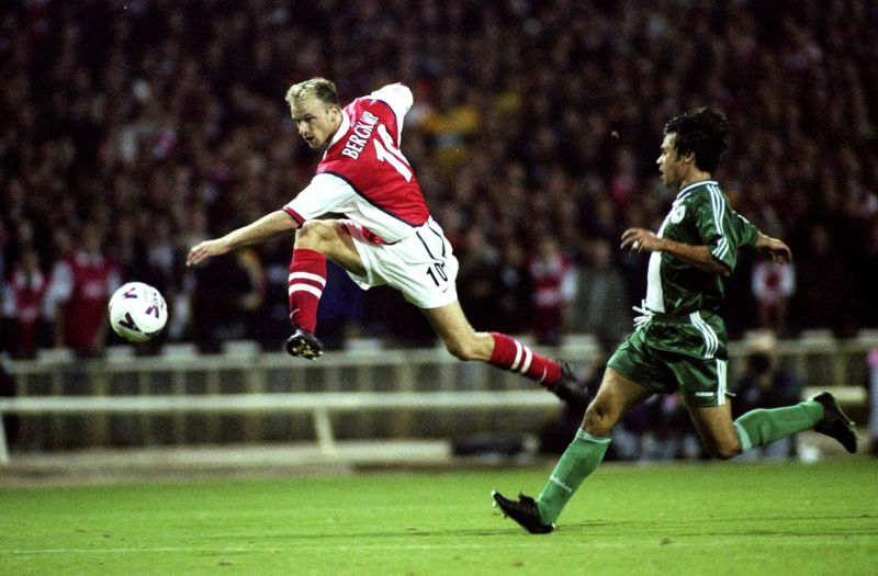 Dennis Bergkamp was the chief magician in Arsene Wenger