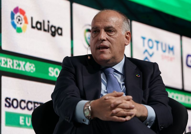 LaLiga president Javier Tebas has been impressed by Germany