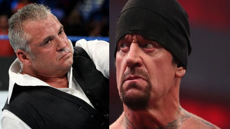 Shane McMahon and The Undertaker