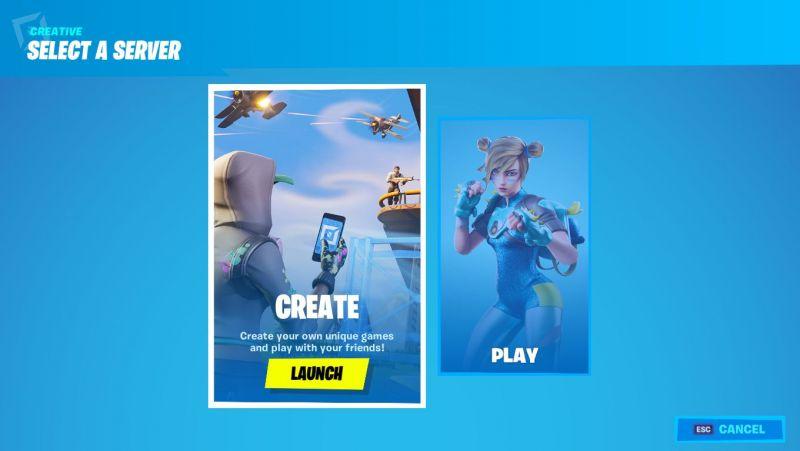 Fortnite Creative Server