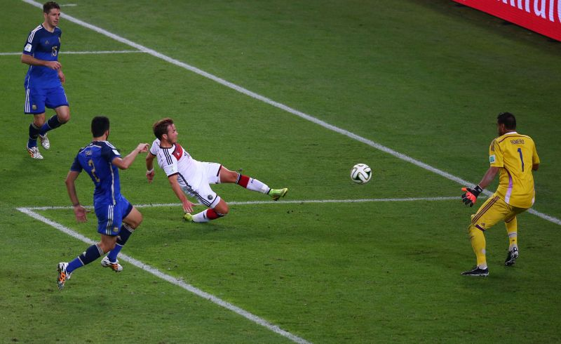 Gotze has the distinction of scoring in a World Cup final