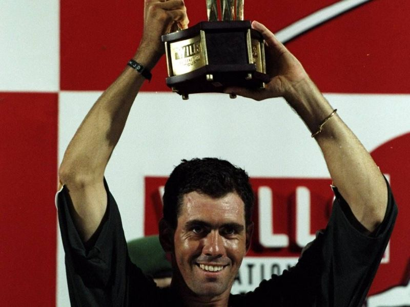 That famous smile of Hansie Cronje