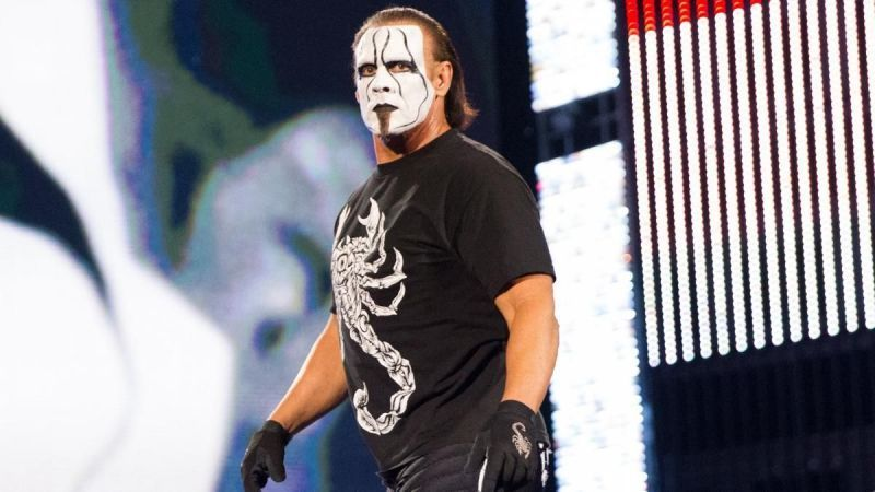 Sting signed with WWE back in 2014 - but it appears his time there is now over.