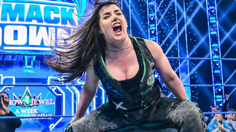 Nikki Cross was the subject of much praise