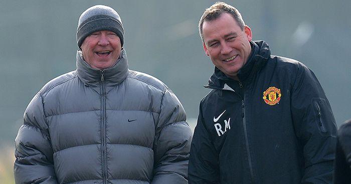 Sir Alex Ferguson and Rene Meulensteen