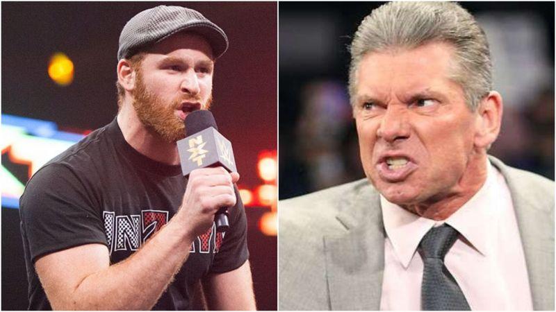 Sami Zayn and Vince McMahon