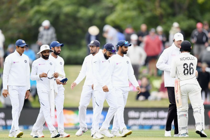 Indian cricket team were displaced at the top by Australia