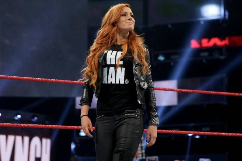 Becky Lynch relinquished her RAW Women