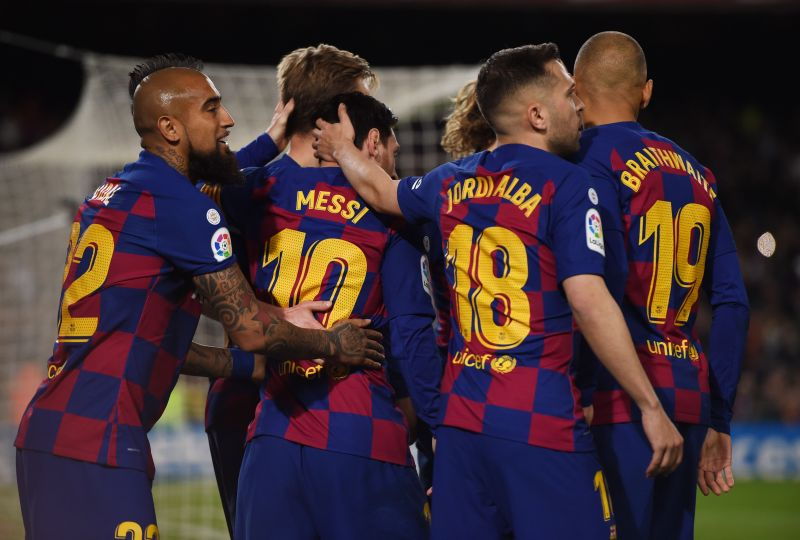 Barcelona have returned to training in recent weeks