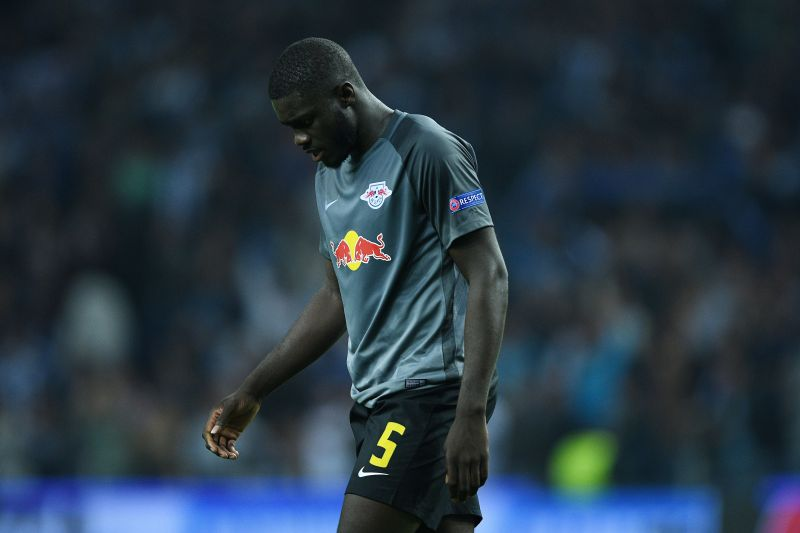 Dayot Upamecano during a Champions League game against FC Porto