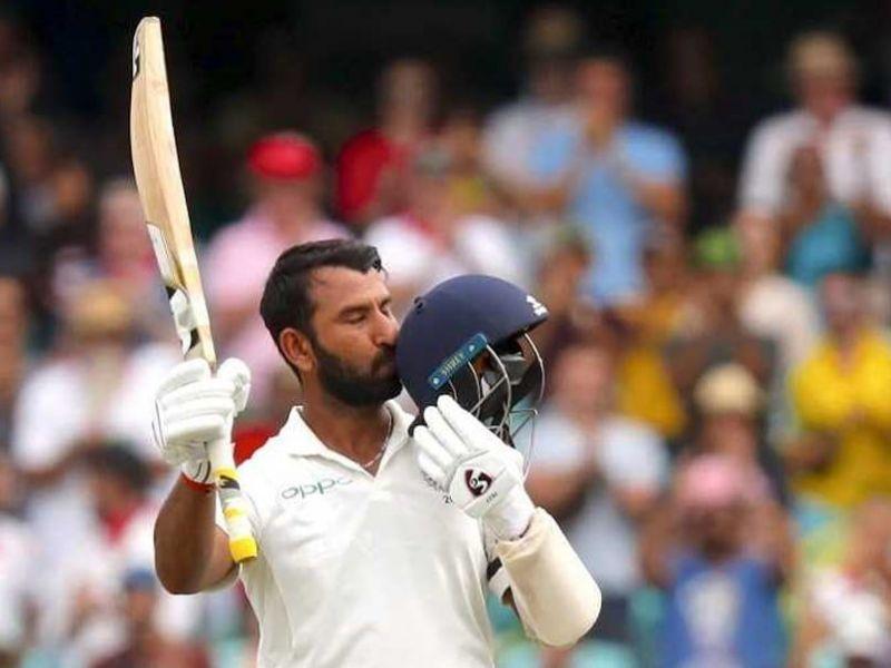 Cheteshwar Pujara is a specialist test batsman