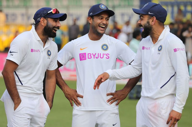 Mayank, Shami, Bumrah, and Kohli from India make it to this XI (Pic Credits: ESPNCricinfo)