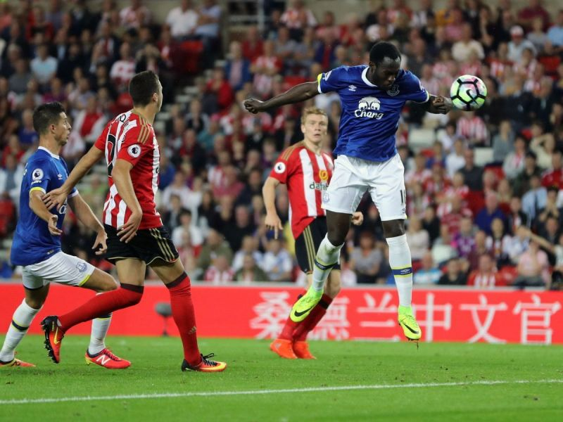 Romelu Lukaku is well known for physicality in aerial duels.