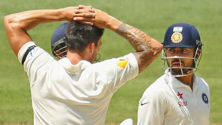Virat Kohli and Mitchell Johnson at the MCG: A battle for the ages