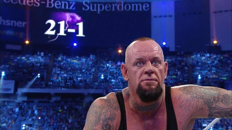 Brock Lesnar beat The Undertaker at WrestleMania 30 to end The Streak