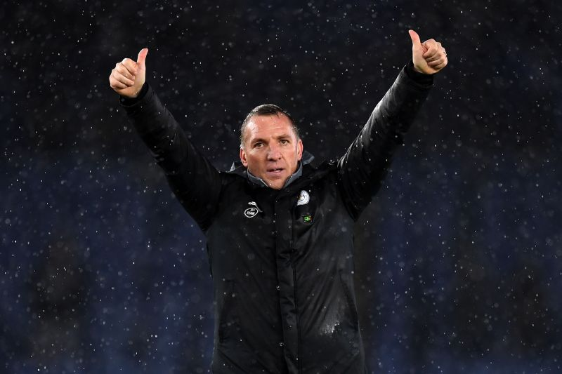 Rodgers has had great success with Leicester City.
