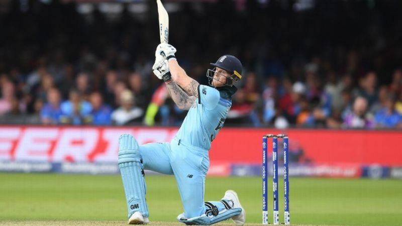 Ben Stokes played an impressive knock of 84* in the final.