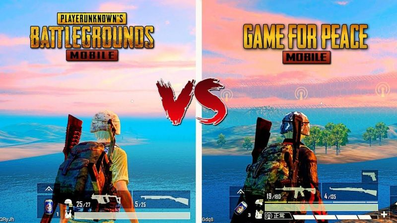 PUBG Mobile v Games for Peace Mobile (picture credits: Gaming Mobile)