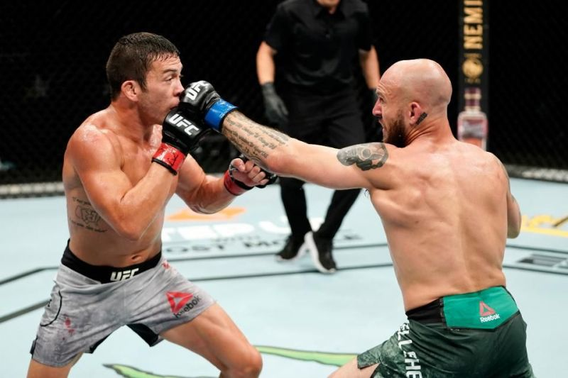 Brian Kelleher pulled out an unbelievable knockout against Hunter Azure