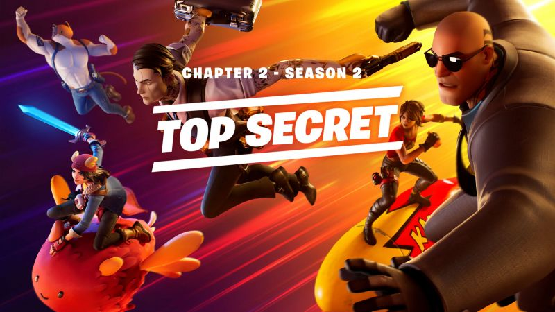 The introduction of Fortnite Chapter 2 Season 2 by Epic Games