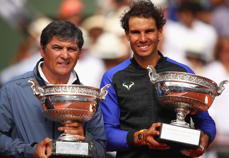 Toni Nadal has been the architect of Rafael Nadal