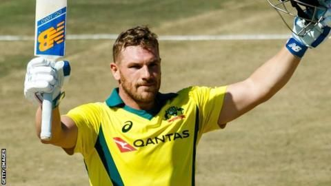 Aaron Finch (Picture courtesy Getty Images)