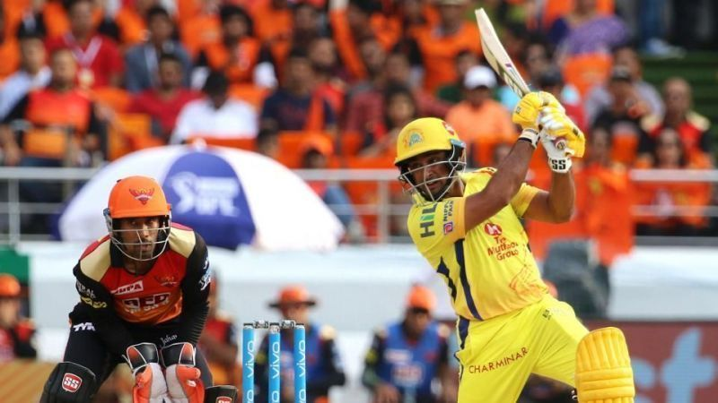 Ambati Rayudu hit the winning runs in the IPL 2018 final against SRH