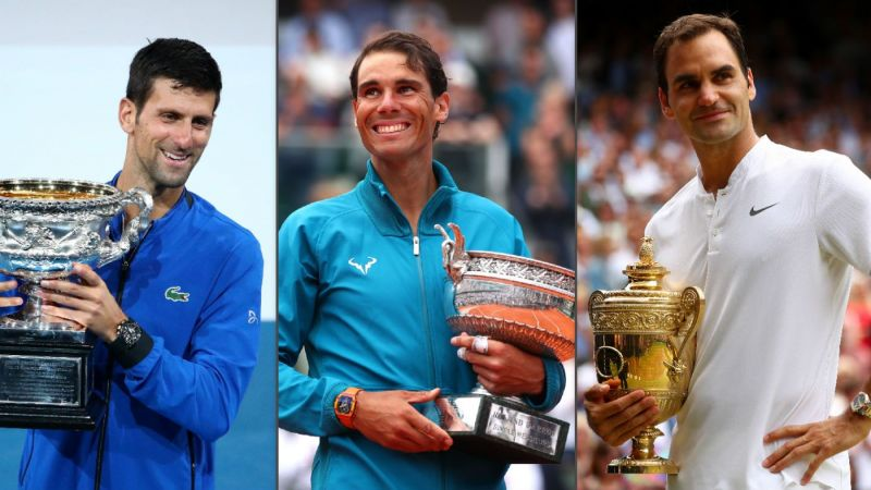 The level of commitment shown by Novak Djokovic, Rafael Nadal and Roger Federer has been exceptional
