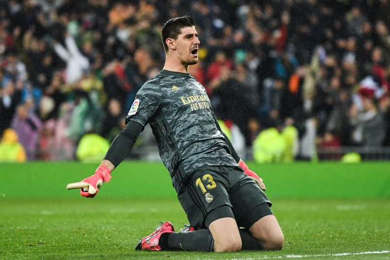 Thibaut Courtois claims his side deserve the title over Barcelona