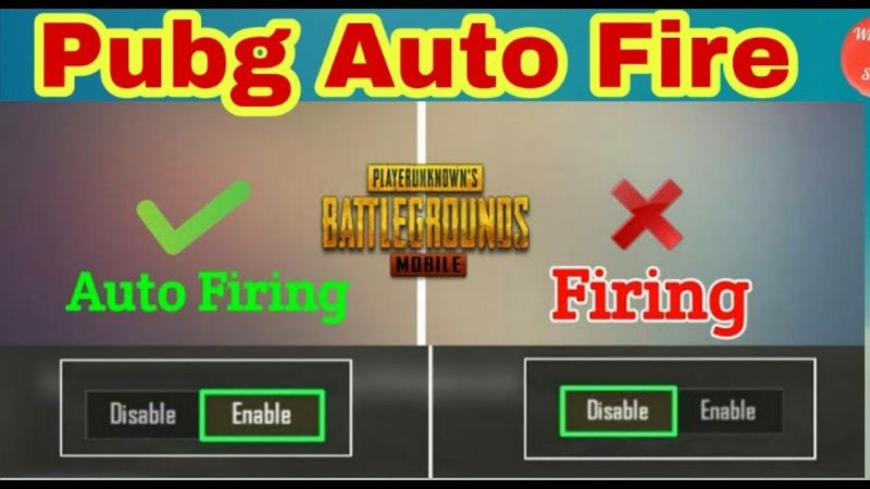 PUBG Mobile fire modes