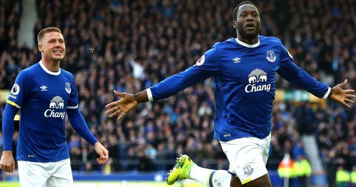 Romelu Lukaku is Everton