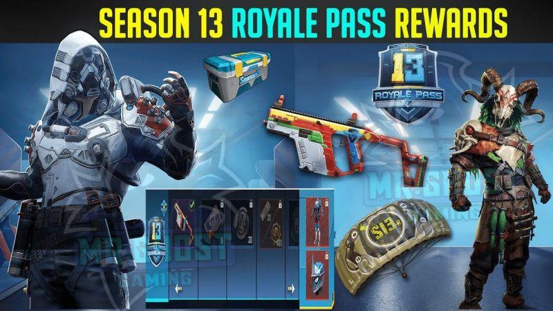 Rewards List (Credits: Mr. Ghost Gaming)